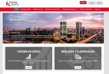 PROMPERÚ PRESENTED IN TOURISM PORTAL FOR PROFESSIONALS