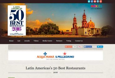 PERUVIAN CUISINE CONSOLIDATED IN THE LIST OF THE 50 BEST RESTAURANTS IN LATIN AMERICA